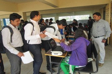 many engineering students are selected in Zycus drive conducted at PCCOER, Pune