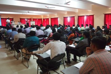 Zycus pre placement talk with engineering student in PCCOER, Pune